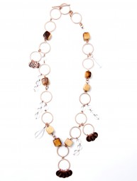 Halskette Holzwürfel 18392