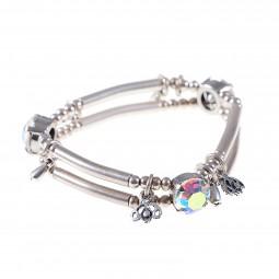 Armband Fiva 26011 mit Regenbogen-Kristallen