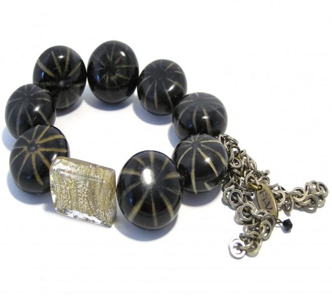 Fiva Armband Kokos-Murano