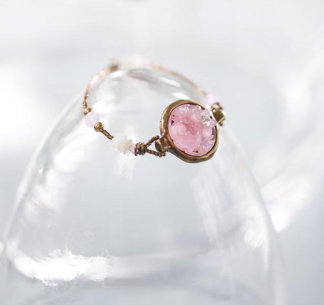 Armband 27004 Vintage Bronze-Rose`