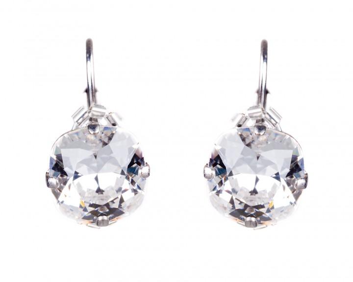 Basic Ohrring 60281 Kristallklar