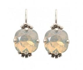 Basic Ohrring 60392 Lightgrey Opal