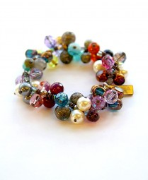 Armband Colorful Drops