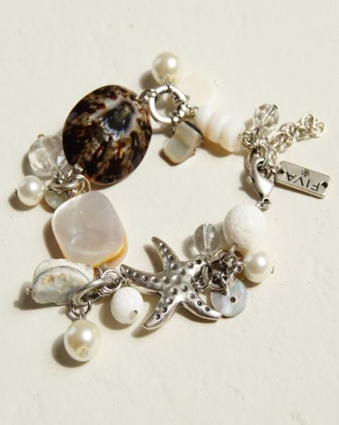 Armband Silber Seestern