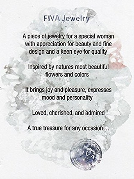 Armband Mondstein-Silberblatt