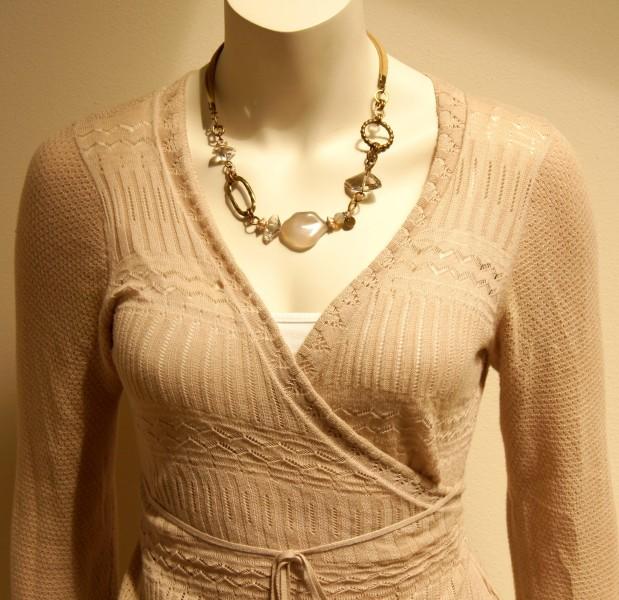 Leder Halskette Bronze- Achat
