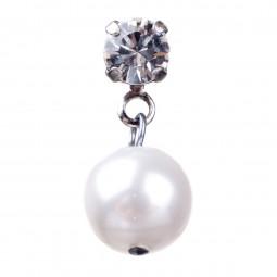 Fiva Perl Ohrringe Cremeweiß