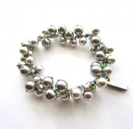 Fiva Armband Silbertropfen