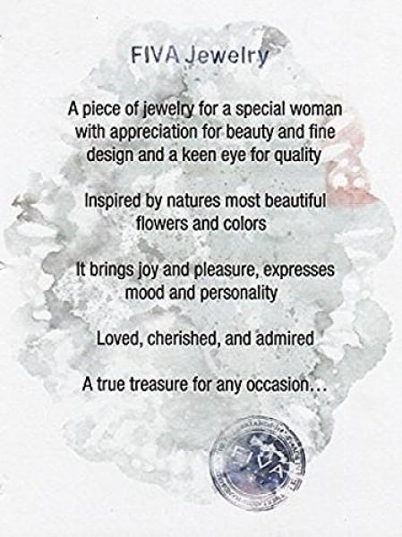 Fiva Halskette Silber-Türkis