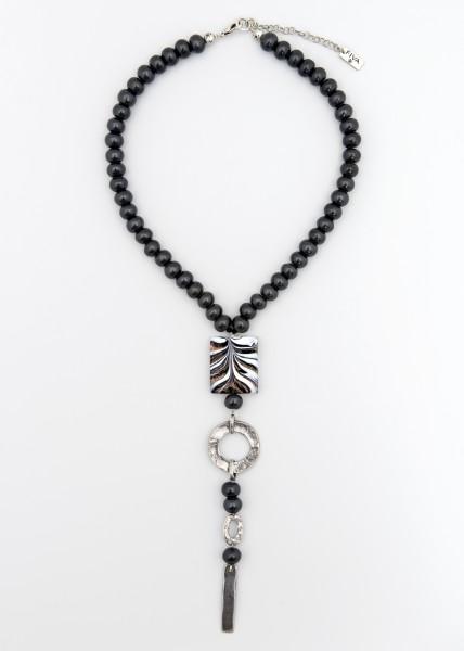 Halskette Murano-Silber