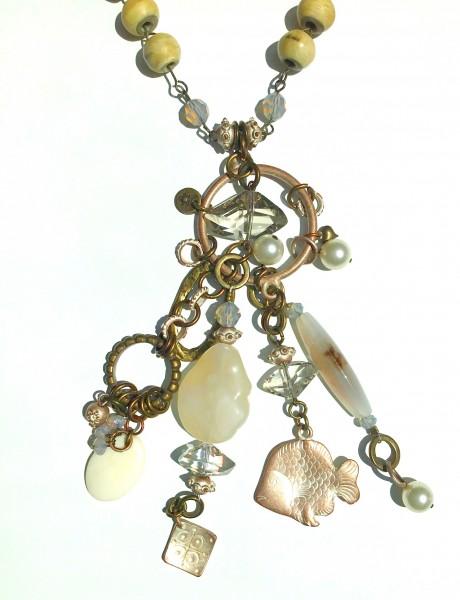 Halskette Hornperle Achat