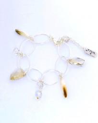 Armband 26502 Perlmutt & Swarovski Cristal Elements