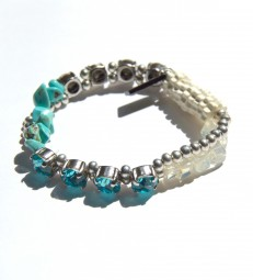 Armband Türkis-Opalith