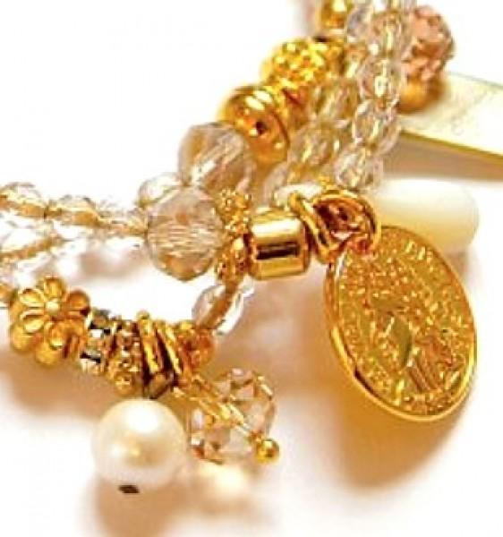 Fiva Armband Crystalgold