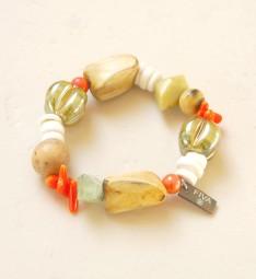Armband Holz-Koralle