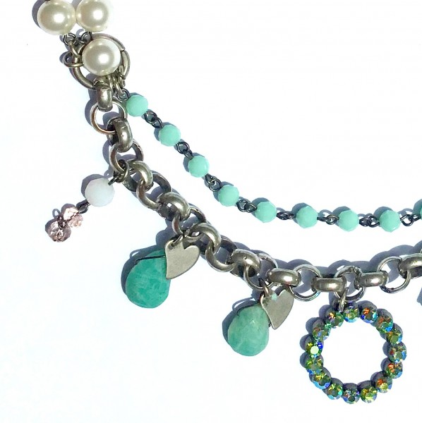 Collier Perle Amazonit