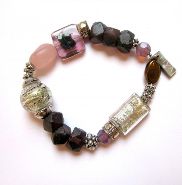 Armband Rosa-Lepidolith